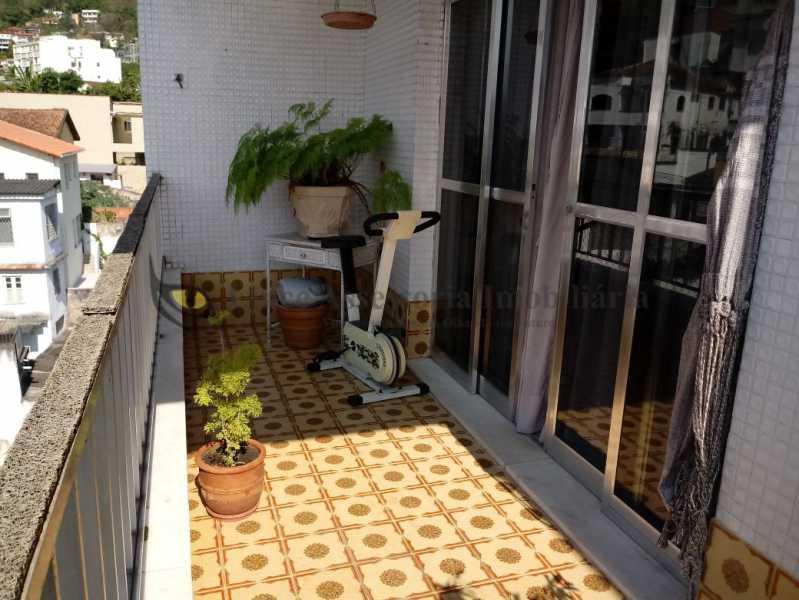 06 VARANDA1.0 - Apartamento 2 quartos à venda Grajaú, Norte,Rio de Janeiro - R$ 390.000 - TAAP21277 - 7
