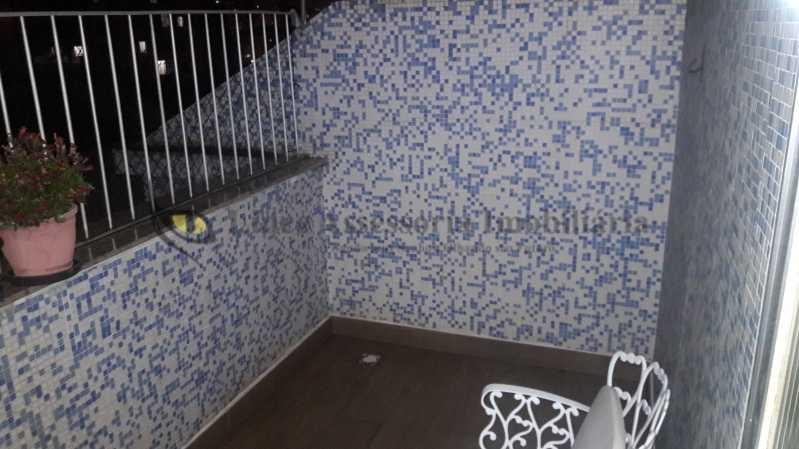 04varanda - Cobertura Grajaú, Norte,Rio de Janeiro, RJ À Venda, 3 Quartos, 85m² - TACO30099 - 15