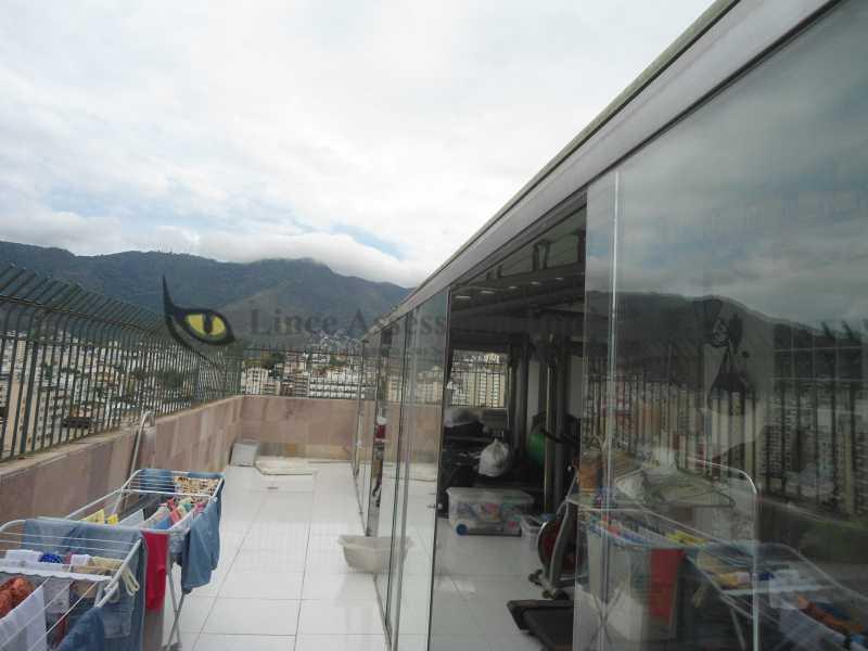 Terraço da frente  - Cobertura 3 quartos à venda Vila Isabel, Norte,Rio de Janeiro - R$ 850.000 - TACO30100 - 8