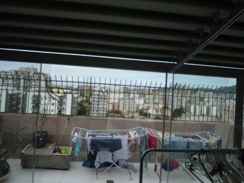 Terraço frente   - Cobertura 3 quartos à venda Vila Isabel, Norte,Rio de Janeiro - R$ 850.000 - TACO30100 - 9