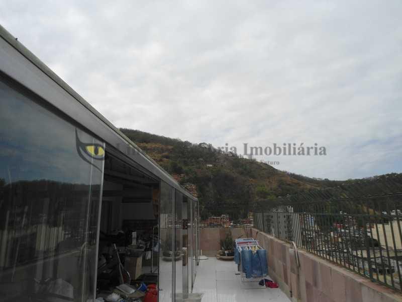 Terraço frente  - Cobertura 3 quartos à venda Vila Isabel, Norte,Rio de Janeiro - R$ 850.000 - TACO30100 - 10