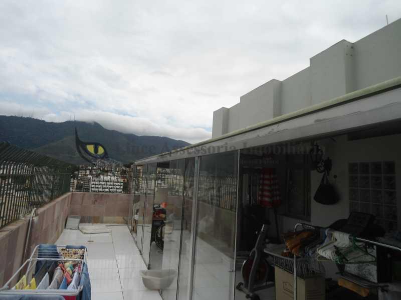 Terraço frente  - Cobertura 3 quartos à venda Vila Isabel, Norte,Rio de Janeiro - R$ 850.000 - TACO30100 - 16