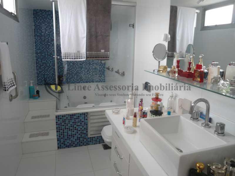 Banheiro suíte - Cobertura 3 quartos à venda Vila Isabel, Norte,Rio de Janeiro - R$ 850.000 - TACO30100 - 7
