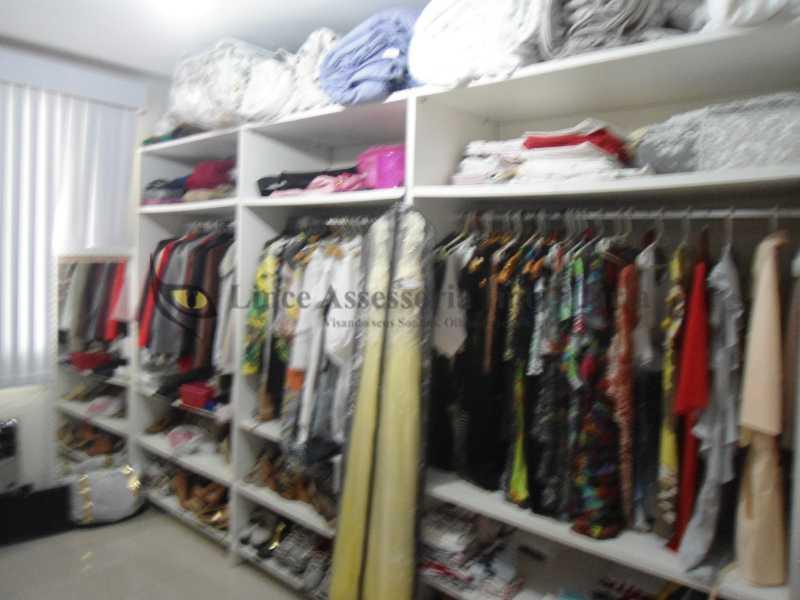 Quarto closet   - Cobertura 3 quartos à venda Vila Isabel, Norte,Rio de Janeiro - R$ 850.000 - TACO30100 - 6