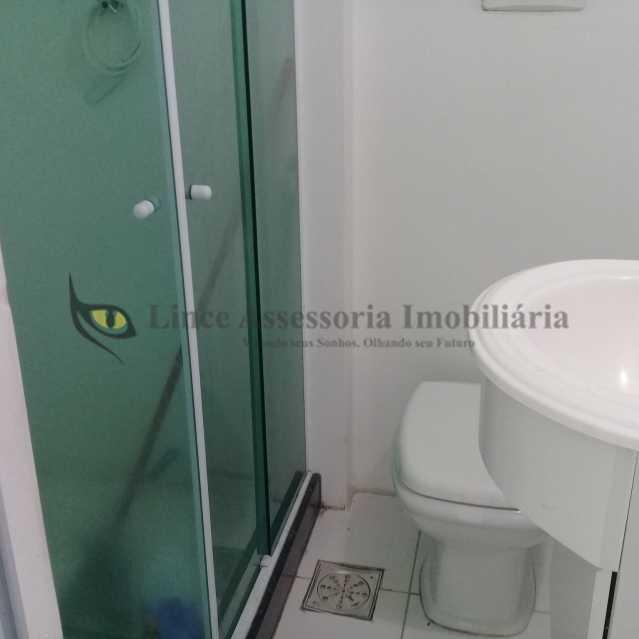BANHEIRO - Apartamento Rocha, Rio de Janeiro, RJ À Venda, 1 Quarto, 30m² - TAAP10257 - 8