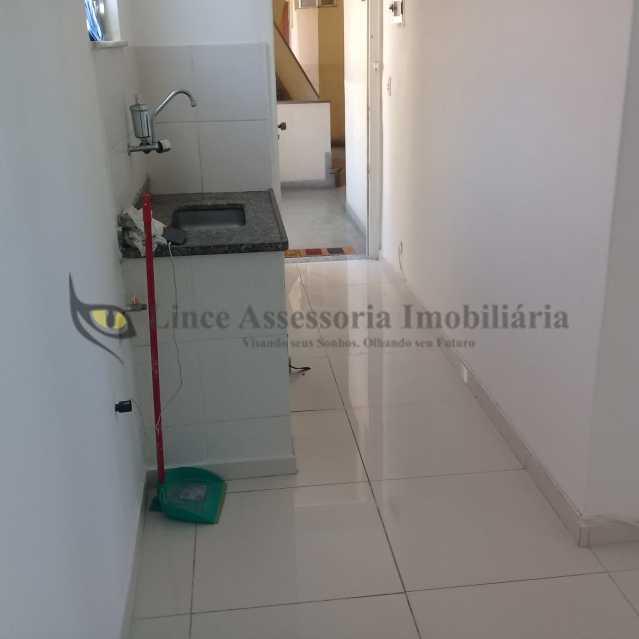 SALA E COZINHA - Apartamento Rocha, Rio de Janeiro, RJ À Venda, 1 Quarto, 30m² - TAAP10257 - 3