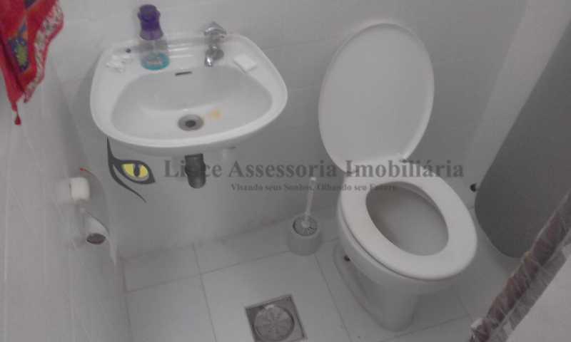 20-Banheiro de empregada - Apartamento 2 quartos à venda Vila Isabel, Norte,Rio de Janeiro - R$ 600.000 - TAAP21362 - 20