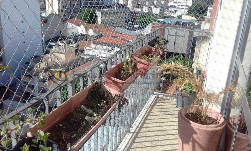 Varanda - Cobertura 4 quartos à venda Vila Isabel, Norte,Rio de Janeiro - R$ 1.160.000 - TACO40031 - 4