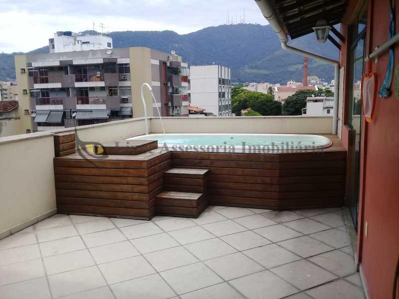15 PISCINA1.0 - Cobertura 2 quartos à venda Vila Isabel, Norte,Rio de Janeiro - R$ 650.000 - TACO20055 - 16