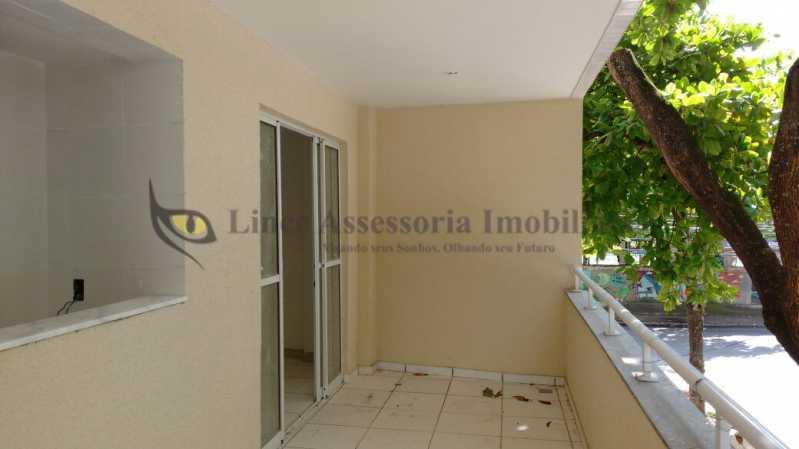 1_ Varanda1.1 - Apartamento 2 quartos à venda Grajaú, Norte,Rio de Janeiro - R$ 450.000 - TAAP21378 - 1