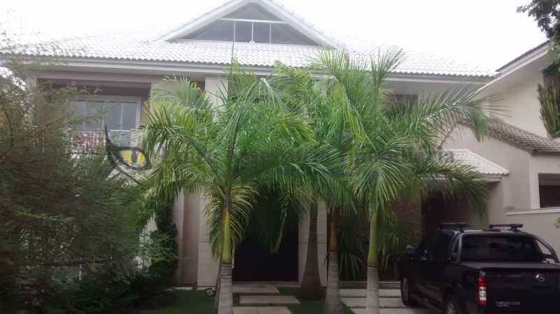 1 Fachada - Casa em Condomínio Barra da Tijuca, Oeste,Rio de Janeiro, RJ À Venda, 5 Quartos, 600m² - TACN50001 - 1
