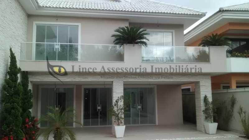 6 Fachada pra Area de Lazer - Casa em Condomínio Barra da Tijuca, Oeste,Rio de Janeiro, RJ À Venda, 5 Quartos, 600m² - TACN50001 - 10