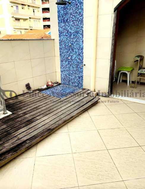 area externa - Casa de Vila 2 quartos à venda Vila Isabel, Norte,Rio de Janeiro - R$ 650.000 - TACV20079 - 13