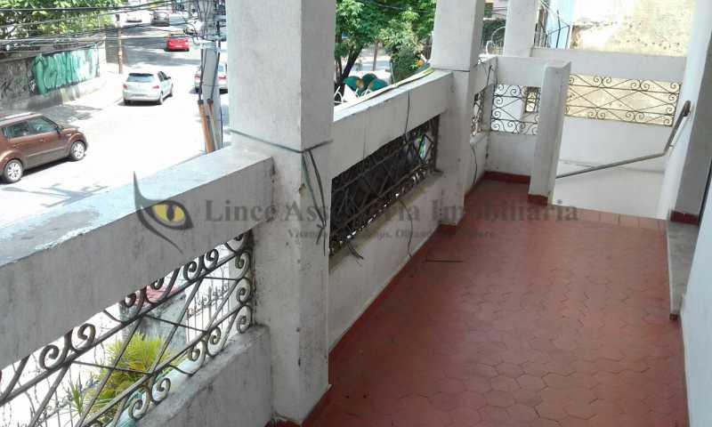 1-Varanda - Casa 3 quartos à venda Grajaú, Norte,Rio de Janeiro - R$ 650.000 - TACA30072 - 3