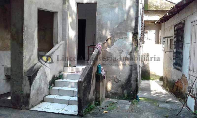 21-Fundos da casa - Casa 3 quartos à venda Grajaú, Norte,Rio de Janeiro - R$ 650.000 - TACA30072 - 22
