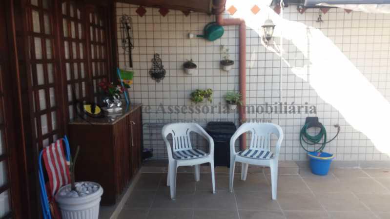 terraco1_2 - Cobertura Tijuca,Norte,Rio de Janeiro,RJ À Venda,3 Quartos,186m² - TACO30103 - 4