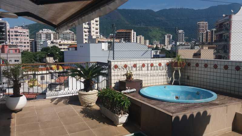 terraço1_3 - Cobertura Tijuca,Norte,Rio de Janeiro,RJ À Venda,3 Quartos,186m² - TACO30103 - 1