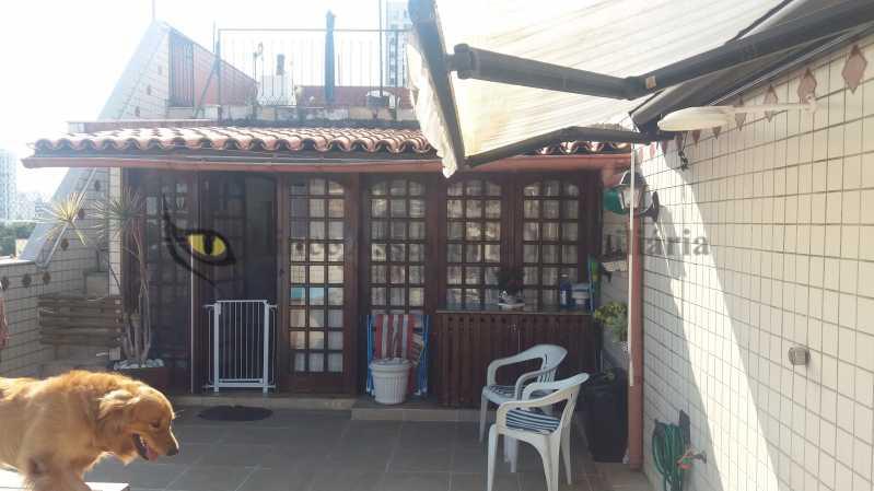 terraço1_4 - Cobertura Tijuca,Norte,Rio de Janeiro,RJ À Venda,3 Quartos,186m² - TACO30103 - 5