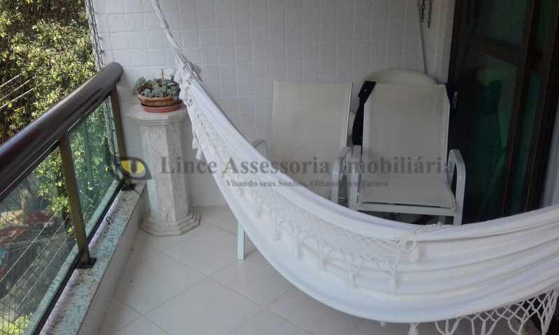 Varanda - Apartamento 2 quartos à venda Maracanã, Norte,Rio de Janeiro - R$ 720.000 - TAAP21483 - 1