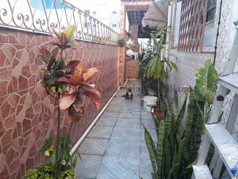 area externa - Casa Vila Isabel,Norte,Rio de Janeiro,RJ À Venda,3 Quartos,179m² - TACA30077 - 24