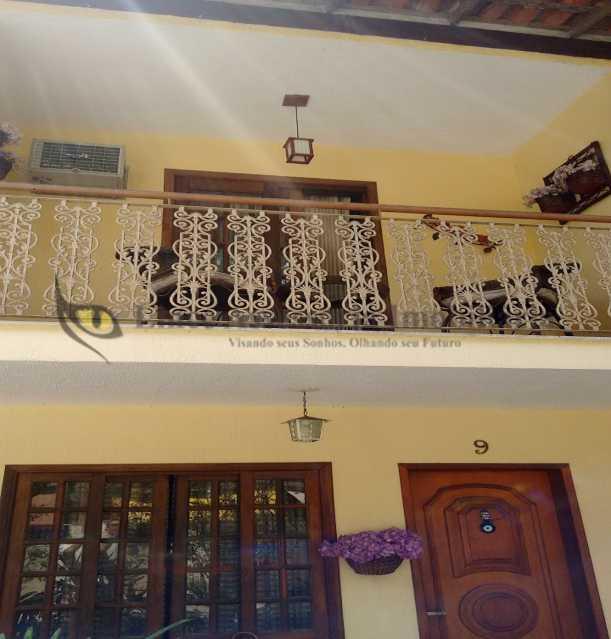 02 VARANDA 1 - Casa em Condomínio 3 quartos à venda Pechincha, Oeste,Rio de Janeiro - R$ 530.000 - TACN30005 - 3