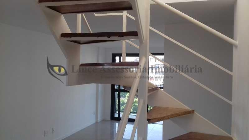 acesso 2º piso - Cobertura 2 quartos à venda Tijuca, Norte,Rio de Janeiro - R$ 1.090.000 - TACO20062 - 16