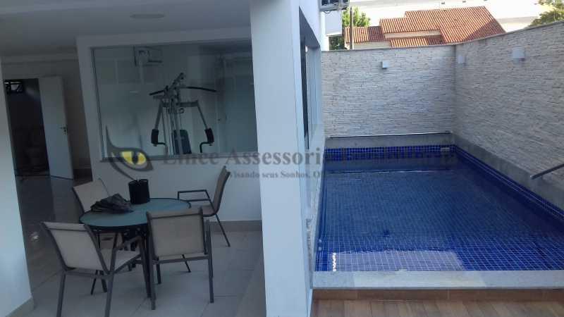 piscina  - Cobertura 2 quartos à venda Tijuca, Norte,Rio de Janeiro - R$ 1.090.000 - TACO20062 - 21