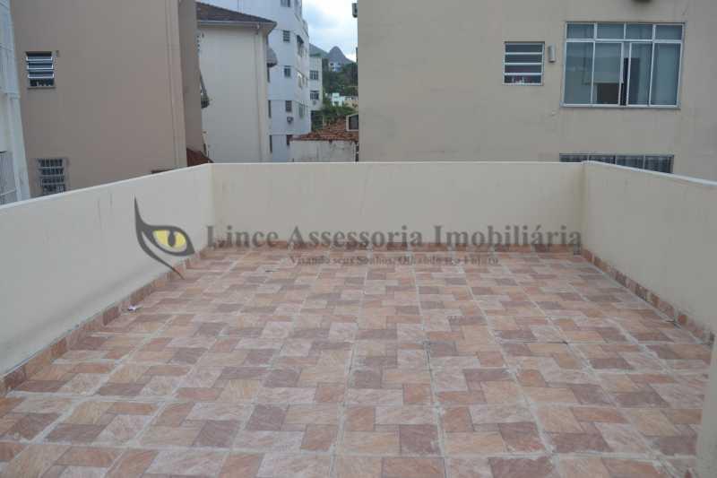 terraço  - Casa de Vila 3 quartos à venda Vila Isabel, Norte,Rio de Janeiro - R$ 700.000 - TACV30047 - 1