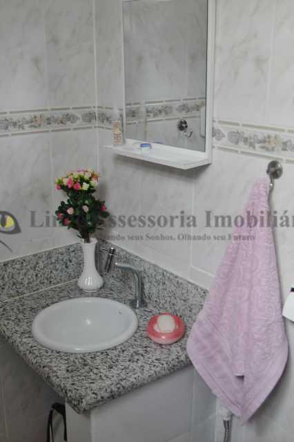 banheiro social - Casa de Vila 3 quartos à venda Vila Isabel, Norte,Rio de Janeiro - R$ 700.000 - TACV30047 - 12