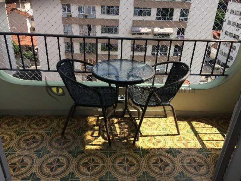 varanda - Apartamento À Venda - Grajaú - Rio de Janeiro - RJ - TAAP21554 - 1