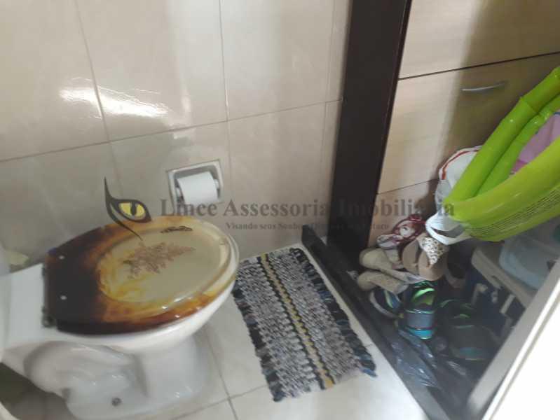 banheiro de serviço - Apartamento Rocha,Rio de Janeiro,RJ À Venda,2 Quartos,65m² - TAAP21577 - 15