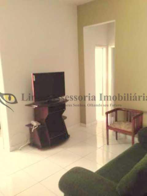 4. Sala - Apartamento 1 quarto à venda Tijuca, Norte,Rio de Janeiro - R$ 200.000 - PAAP10348 - 5