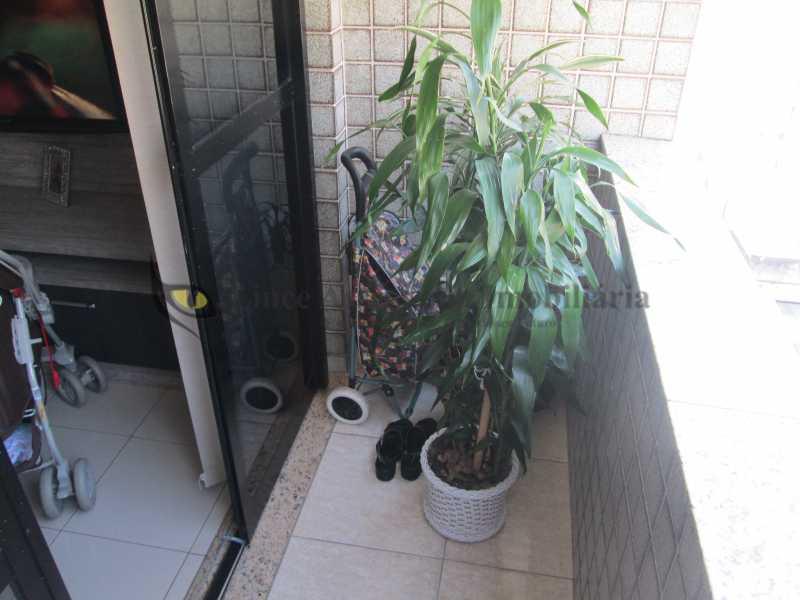 5-varanda - Apartamento À VENDA, Tijuca, Rio de Janeiro, RJ - TAAP21583 - 5