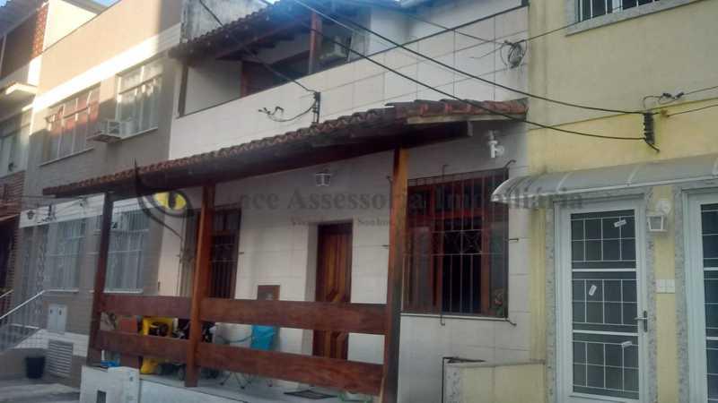 fachada - Casa de Vila 3 quartos à venda Tijuca, Norte,Rio de Janeiro - R$ 849.999 - PACV30024 - 1