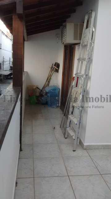 terraço - Casa de Vila 3 quartos à venda Tijuca, Norte,Rio de Janeiro - R$ 849.999 - PACV30024 - 10