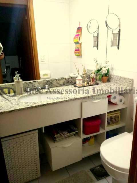 Banheiro Social - Apartamento Tijuca,Norte,Rio de Janeiro,RJ À Venda,2 Quartos,67m² - PAAP21895 - 12