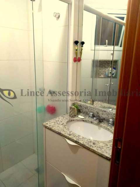 Banheiro Suíte - Apartamento Tijuca,Norte,Rio de Janeiro,RJ À Venda,2 Quartos,67m² - PAAP21895 - 11