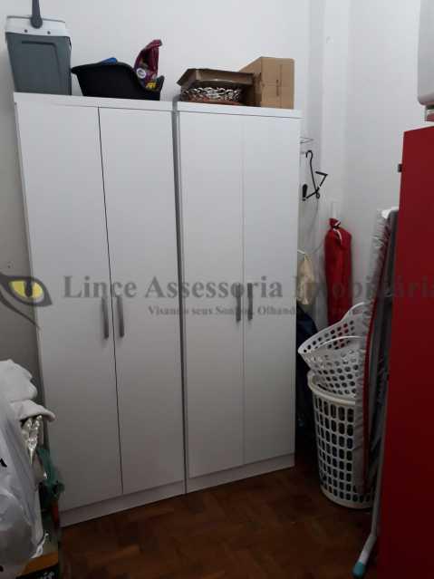 15 quarto empregada - Apartamento À VENDA, Tijuca, Rio de Janeiro, RJ - TAAP21625 - 16