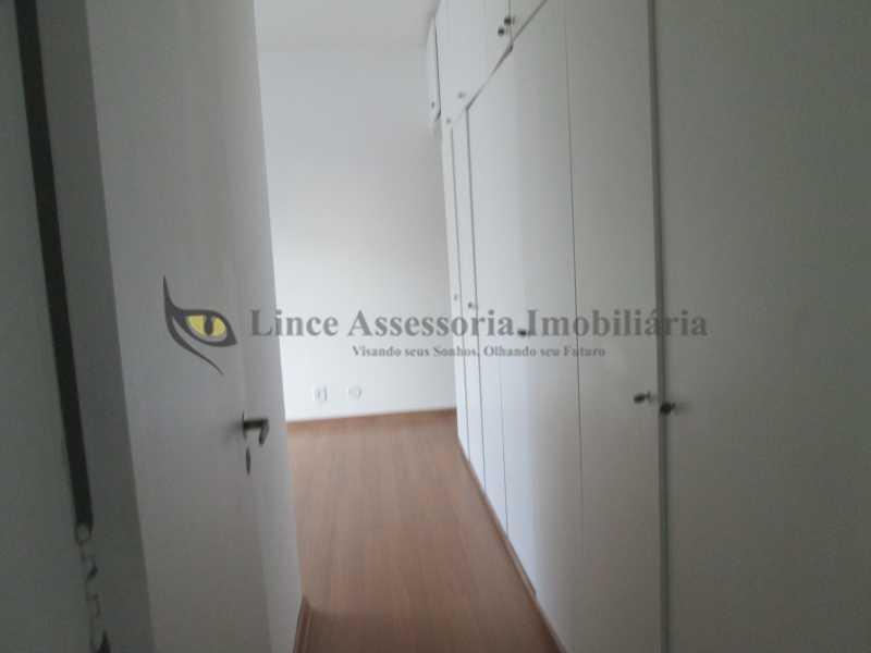 entrada da suíte - Apartamento À VENDA, Tijuca, Rio de Janeiro, RJ - TAAP30917 - 9