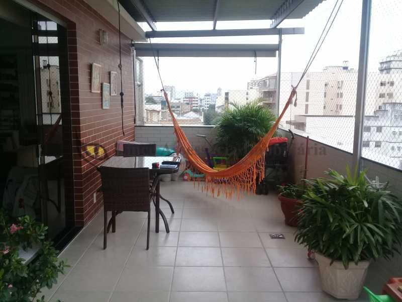3 VARANDA1.0 - Cobertura 3 quartos à venda Vila Isabel, Norte,Rio de Janeiro - R$ 830.000 - TACO30115 - 5