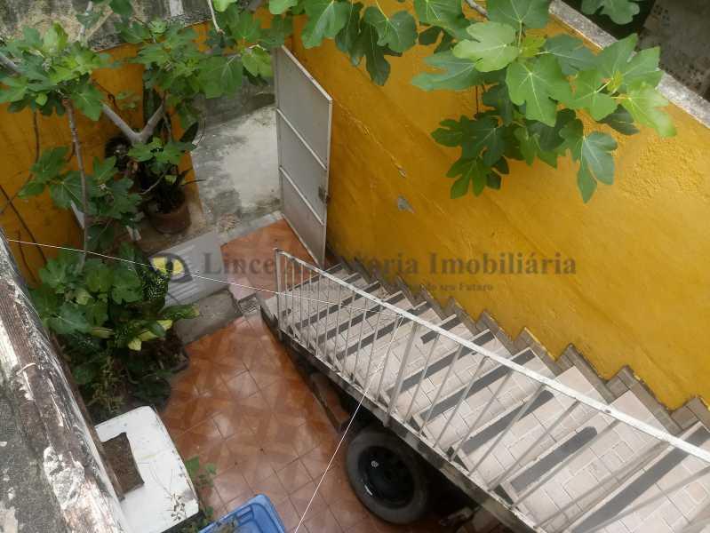 vista varanda fundos e entrada - Casa Todos os Santos, Rio de Janeiro, RJ À Venda, 3 Quartos, 73m² - PACA30088 - 30