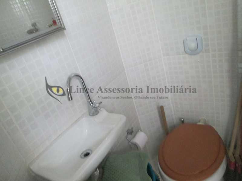 22 BANHEIRO EMPREGADA - Apartamento 2 quartos à venda Tijuca, Norte,Rio de Janeiro - R$ 475.000 - TAAP21691 - 24