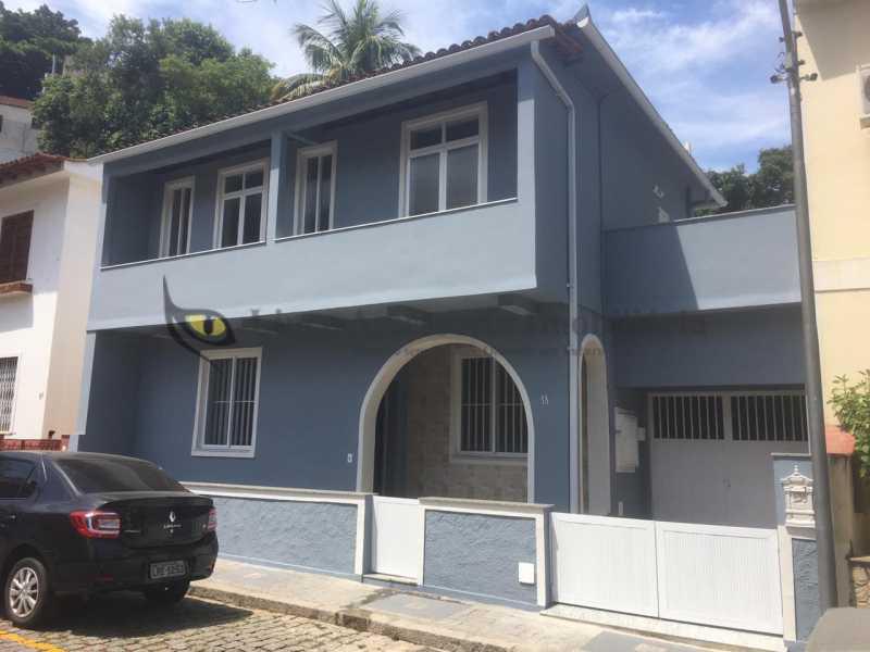1-fachada da casa - Casa de Vila À Venda - Tijuca - Rio de Janeiro - RJ - TACV30057 - 1