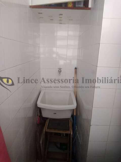 ÁREA DE SERVIÇO - Apartamento 1 quarto à venda Tijuca, Norte,Rio de Janeiro - R$ 300.000 - TAAP10354 - 18