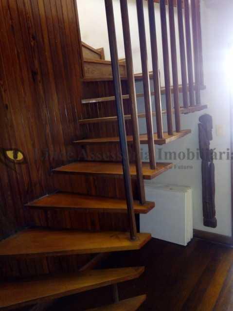 Escada para o segundoar - Cobertura 3 quartos à venda Tijuca, Norte,Rio de Janeiro - R$ 899.000 - TACO30123 - 16