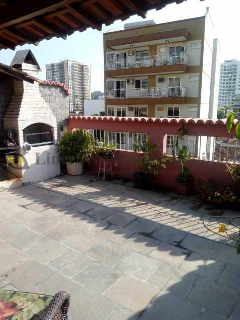 Varanda com Churrasqueira - Cobertura 3 quartos à venda Tijuca, Norte,Rio de Janeiro - R$ 899.000 - TACO30123 - 1