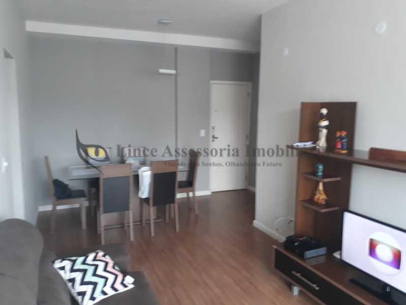 SALA - Apartamento Rio Comprido, Norte,Rio de Janeiro, RJ À Venda, 1 Quarto, 57m² - TAAP10365 - 1