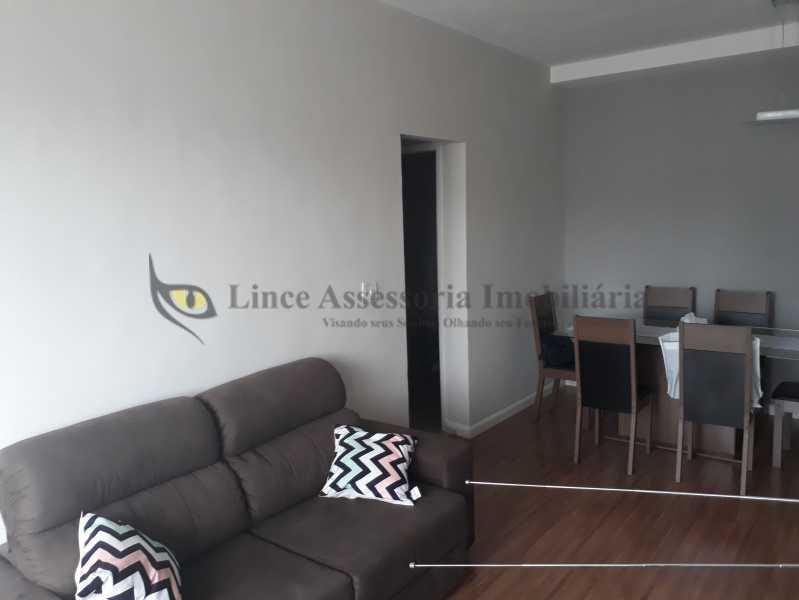 SALA - Apartamento Rio Comprido, Norte,Rio de Janeiro, RJ À Venda, 1 Quarto, 57m² - TAAP10365 - 3