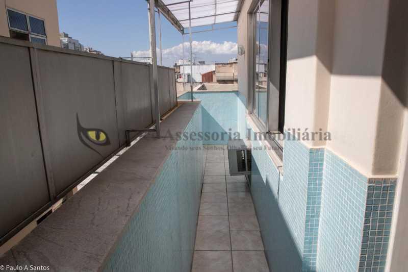 3 Varanda secundária - Cobertura 3 quartos à venda Vila Isabel, Norte,Rio de Janeiro - R$ 530.000 - TACO30124 - 6