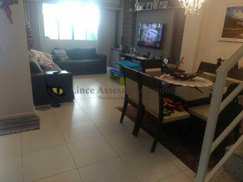 1 salão - Casa Tijuca, Norte,Rio de Janeiro, RJ À Venda, 3 Quartos, 240m² - TACA30096 - 1